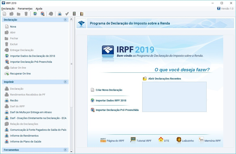 programa irpf 2019